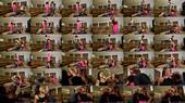 Mariah And Natalya - Gassy Vegans Trample A Human Yoga Mat